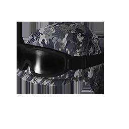 跳伞求生:KOTK 饰品交易-Blue Camo Tactical Helmet w-Goggles