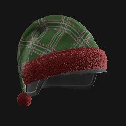 跳伞求生:KOTK 饰品交易-Green Plaid Holiday Tactical Helmet