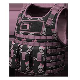 跳伞求生:KOTK 饰品交易-Pink Skull Body Armor