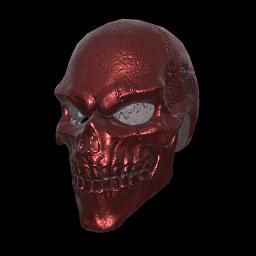 跳伞求生:KOTK 饰品交易-Red Bone Full Helmet