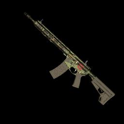 跳伞求生:KOTK 饰品交易-Mercenary AR-15
