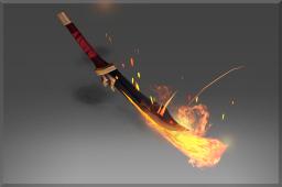 dota2 饰品交易-灰烬重燃战刃