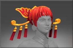 dota2 饰品交易-红发鹤魂头巾
