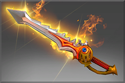 dota2 饰品交易-纯正 真神炙剑