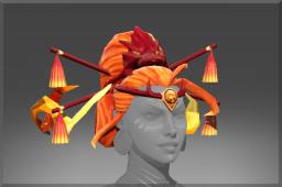 dota2 饰品交易-炎龙之焰发辫