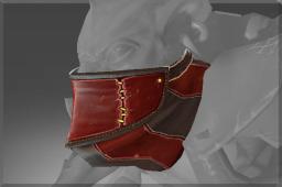dota2 饰品交易-深红封喉行会面罩