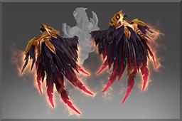 dota2 饰品交易-纯正 血羽魔翼