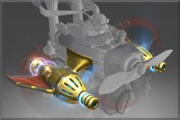 dota2 饰品交易-铭刻 纯金原子束推进器