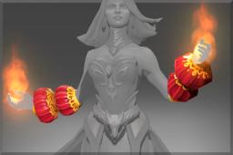 dota2 饰品交易-炎龙之焰手套