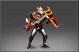 dota2 饰品交易-猩红飞龙的附魔盔甲套装