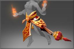 dota2 饰品交易-炎龙之焰披肩