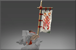 dota2 饰品交易-铭刻 遮面一族的战斗旗帜