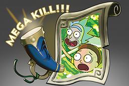 dota2 饰品交易-连杀配音:Rick和Morty