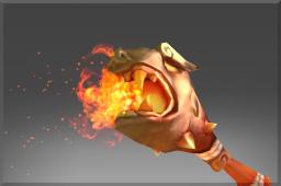 dota2 饰品交易-祖传吉运的燃焰神杖