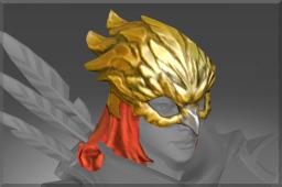dota2 饰品交易-金辉猎鹰头盔