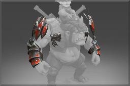 dota2 饰品交易-高头大马臂甲