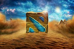 dota2 饰品交易-卢克索沙漠载入画面