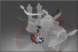dota2 饰品交易-纯正 钢铁矮人旋翼机火炮