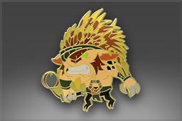 dota2 饰品交易-纯正 徽章:钢背兽
