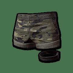 绝地求生(吃鸡) 饰品交易-Camo Hotpants