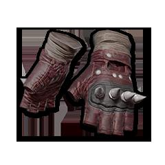 绝地求生(吃鸡) 饰品交易-Punk Knuckle Gloves (Red)
