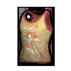 绝地求生(吃鸡) 饰品交易-Princess Power Tank-top