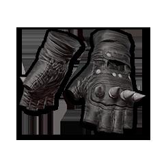 绝地求生(吃鸡) 饰品交易-Punk Knuckle Gloves (Black)