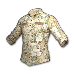 绝地求生(吃鸡) 饰品交易-Floral Shirt (White)