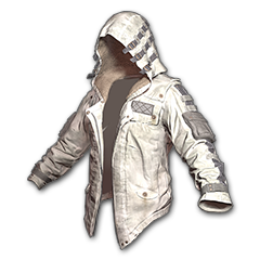 绝地求生(吃鸡) 饰品交易-Leather Hoodie (White)