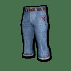 绝地求生(吃鸡) 饰品交易-Denim Bootcut Pants