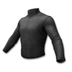 绝地求生(吃鸡) 饰品交易-Long Sleeved Turtleneck (Black)