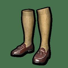 绝地求生(吃鸡) 饰品交易-Zest Loafers with Socks