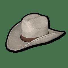 绝地求生(吃鸡) 饰品交易-Cowboy Hat (White)
