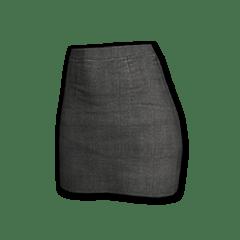绝地求生(吃鸡) 饰品交易-Military Skirt (Black)