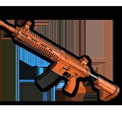 绝地求生(吃鸡) 饰品交易-Rugged (Orange) - M416