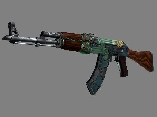 csgo 饰品交易-AK-47(StatTrak™) | 火蛇 (久经沙场)