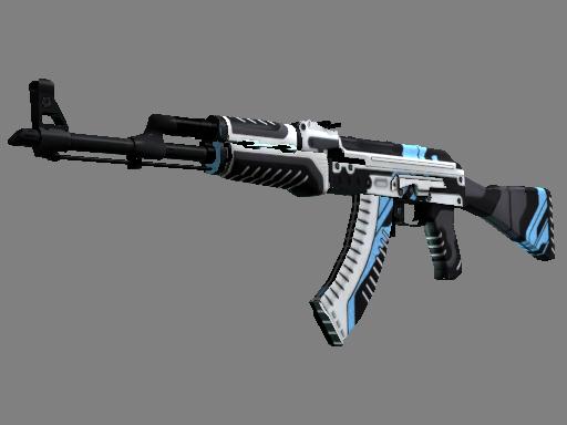 csgo 饰品交易-AK-47 | 火神 (略有磨损)
