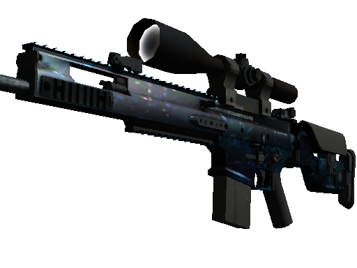 CS:GO 饰品交易-SCAR-20 | 蓝洞 (崭新出厂)
