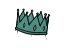CS:GO 饰品交易-封装的涂鸦   王冠 (暗绿)