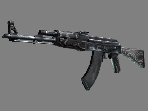 csgo 饰品交易-AK-47 | 黑色层压板 (崭新出厂)