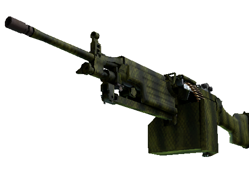 csgo 饰品交易-M249 | 鳄鱼网格 (崭新出厂)