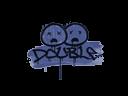 CS:GO 饰品交易-封装的涂鸦   双杀 (靛蓝)