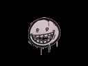 CS:GO 饰品交易-封装的涂鸦 | 露齿笑 (藕色)