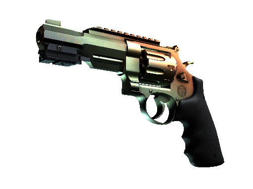 csgo 饰品交易-R8 左轮手枪 | 渐变琥珀 (崭新出厂)