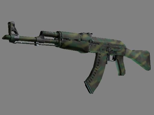 csgo 饰品交易-AK-47 | 丛林涂装 (久经沙场)
