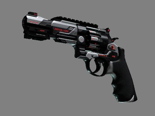 csgo 饰品交易-R8 左轮手枪 | 重新启动 (略有磨损)