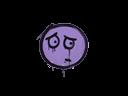 CS:GO 饰品交易-封装的涂鸦 | 担心 (纯紫)