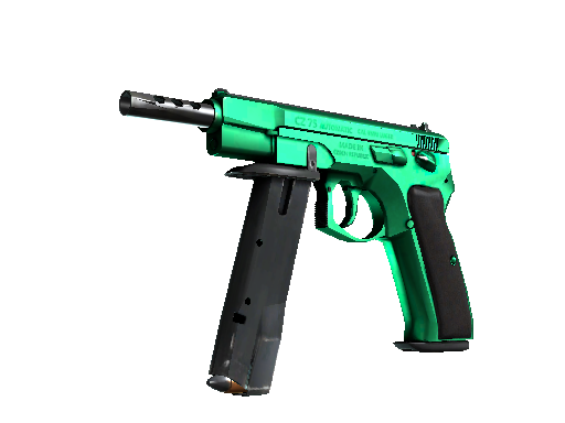 CS:GO 饰品交易-CZ75 自动手枪   翡翠色调 (崭新出厂)