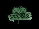 CS:GO 饰品交易-封装的涂鸦 | 双杀 (深绿)