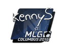 CS:GO 饰品交易-印花 | kennyS | 2016年 MLG 哥伦布锦标赛